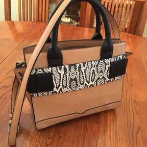Republic of Aces vegan leather structured satchel